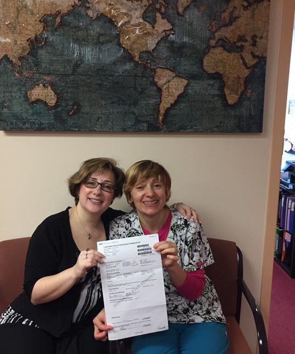 IP Immigration Project testimonial Natalia