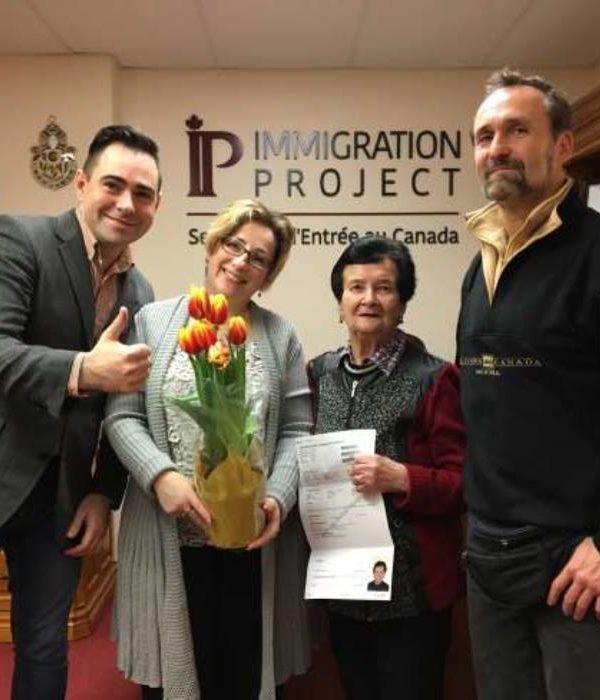 IP Immigration Project testimonial Rakhil